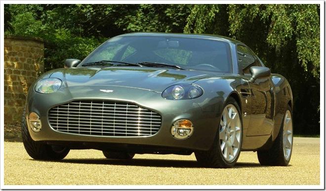 2003 Aston Martin DB7 Vantage Zagato