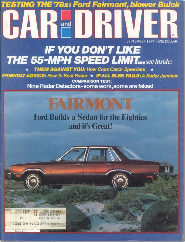 Car and Driver September 1977