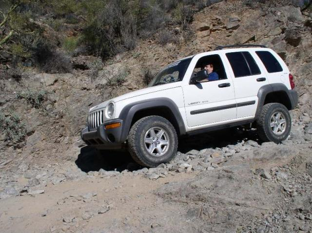 Jeep Liberty Box Canyon