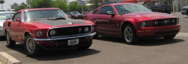 1969 Mustang MAch 1 2006 Mustang
