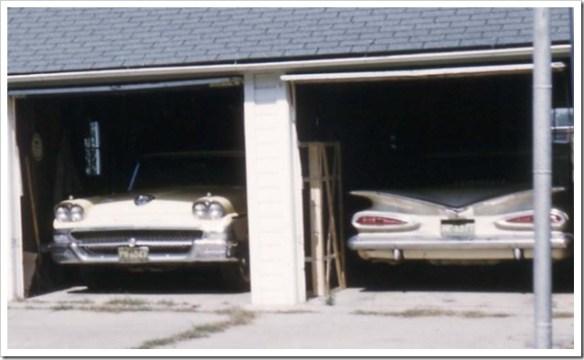 1958 Ford Fairlane 1959 Chevrolet Bel Air