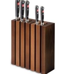 Kitchen Knife Magnet Cottage Style Furniture WÜsthof Messerblock Magnetisch Thermobuche 6 Messer ...