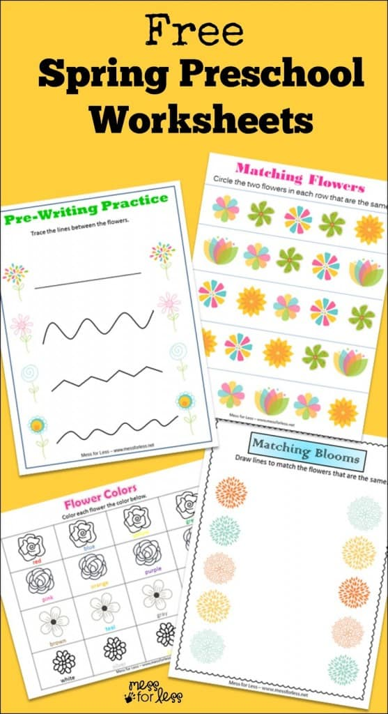 Firefighter Kindergarten Worksheets  Mess For Less