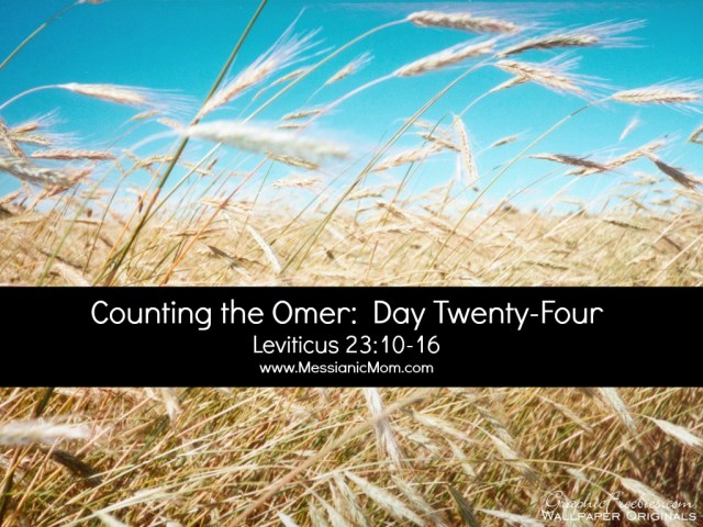 Day Twenty Four Omer Count