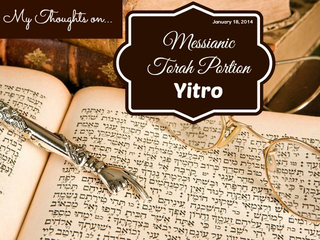 Studying Torah Portion Yitro