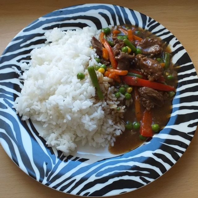 beef sauce for rice