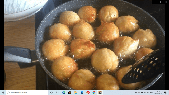 how to make puff puff with pictures