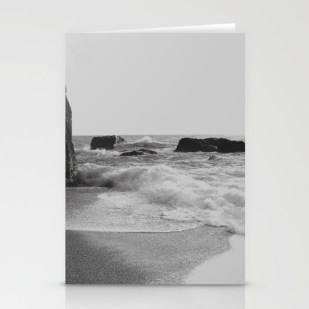 greek-seascape-black-and-grey-sea-rocks-ionia-island-lefkada-cards