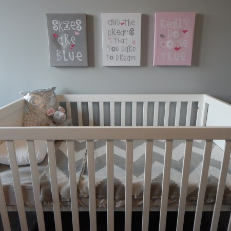 Crib Concussion Protection via Lowe's, Joann Fabric