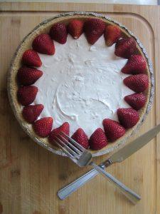 No-bake Skinny 'Cheesecake'