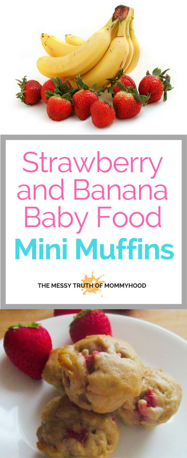Strawberry-Banana Mini Breakfast Muffins