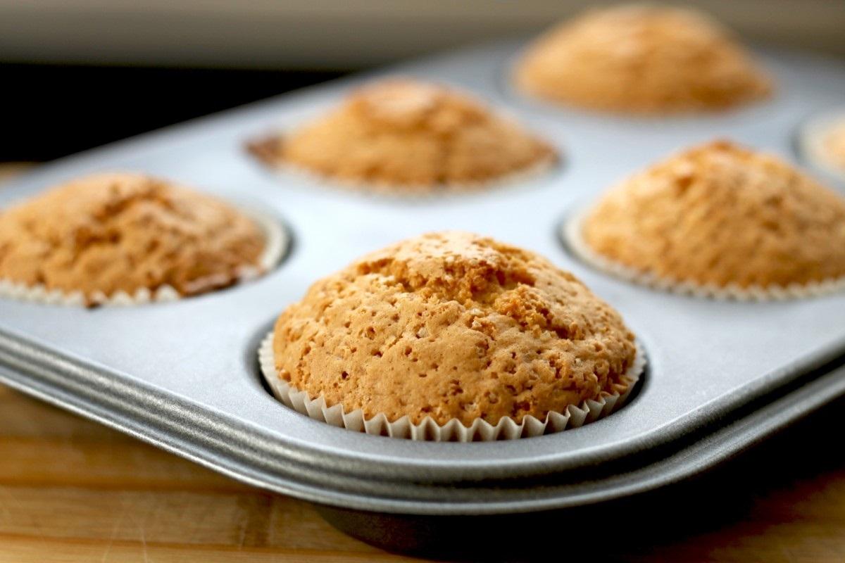 PBJ and Oatmeal Mini Muffins