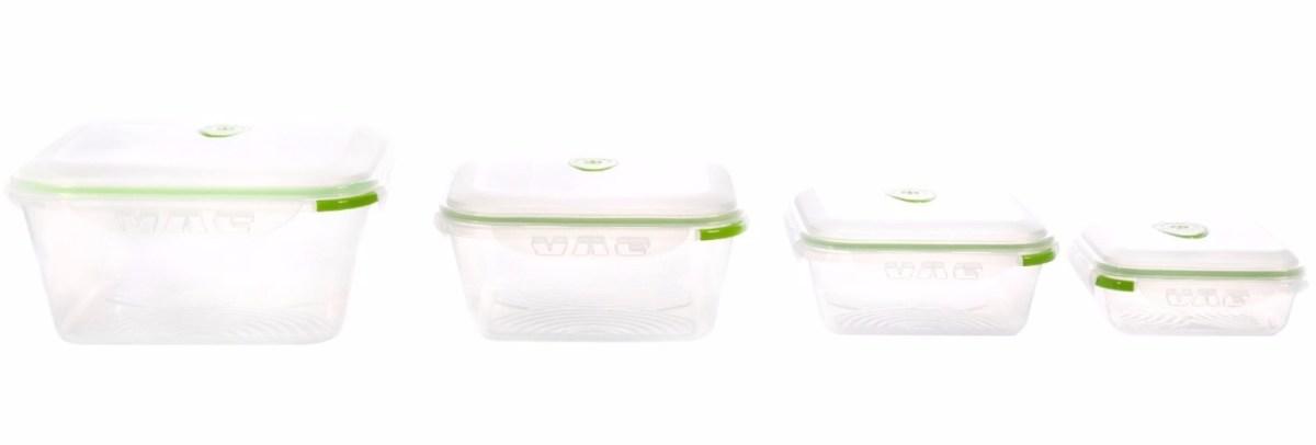 Ozeri Instavac Nesting Food Storage Containers