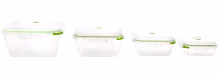 Ozeri Instavac Nesting Food Storage Containers