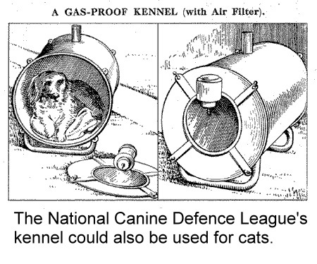 CATS DURING THE TWO WORLD WARS