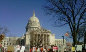 Madison Wisconsin Protest