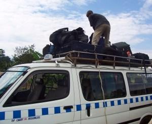 matatu (Ugandan taxi), courtesy of Nicole Steele Wooldridge