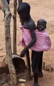 Ugandan baby, courtesy of Nicole Steele Wooldridge