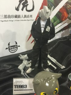 TEQ63 by Devil Toys HK. Fun fact: this is a collaboration by a Philippine artist and Devil Toys HK.