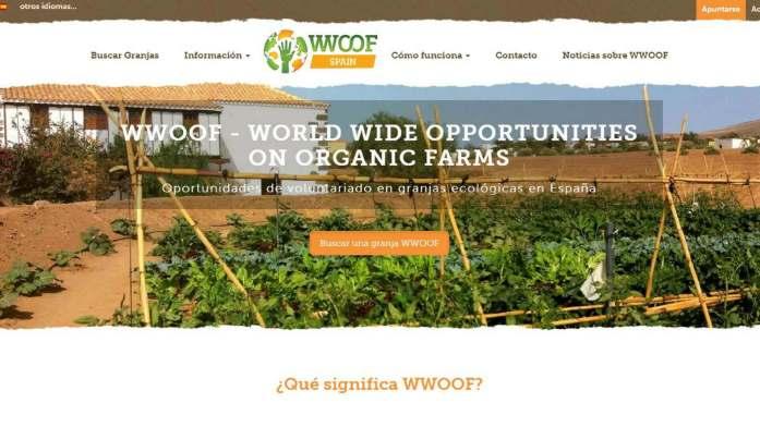 Voluntariado internacional en granjas organicas