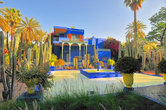 Marrakech - Jardines de Majorelle