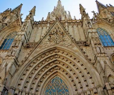 Catedral en Barcelona