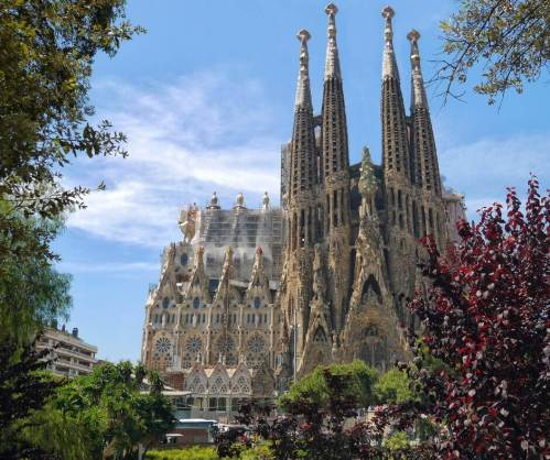 En barcelona_Sagrada Familia