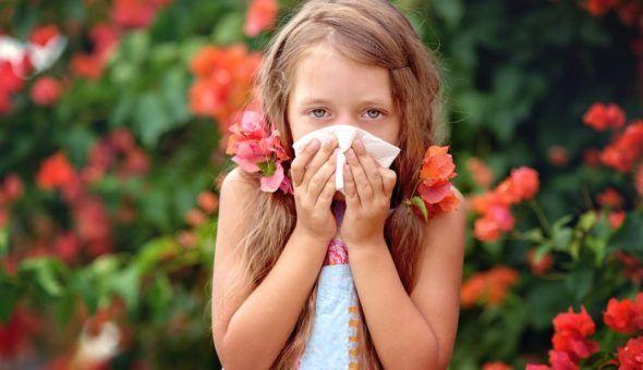 Православная молитва при аллергии у ребенка