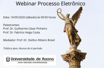 Webinar Processo Eletronico Universidade Itauna