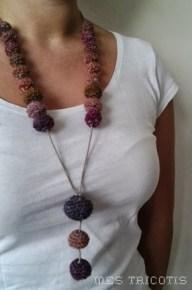 Collier boules crochet2
