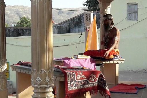 saddhu à Pushkar
