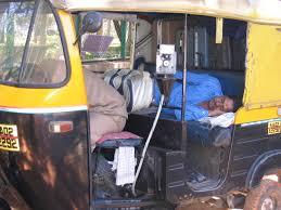 la sieste en Inde