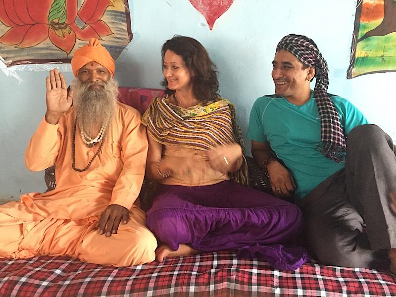 Sadhu en Inde