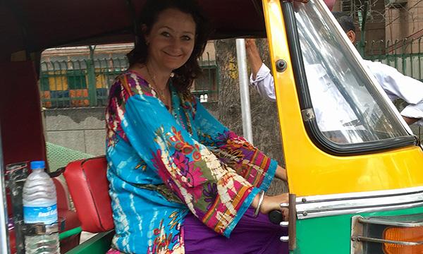 Rickshaw en Inde