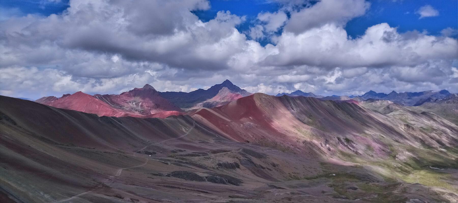 Vinicunca rainbow mountain