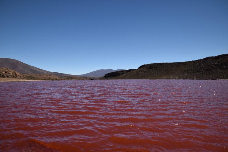 Iquique laguna roja