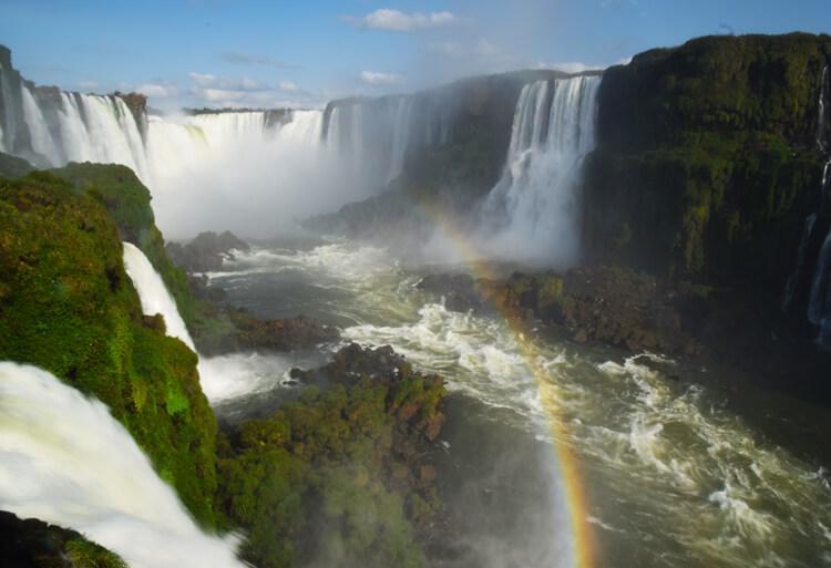 Chutes Iguaçu arc-en-ciel