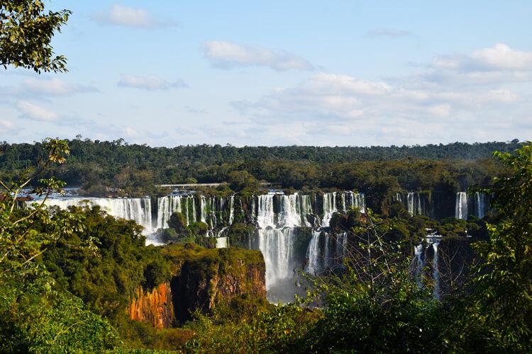 Chutes Iguaçu vue