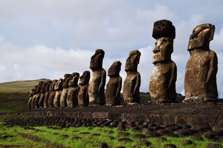 île de Pâques Ahu Tongariki
