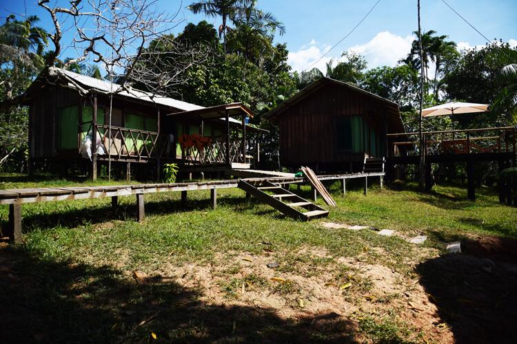 Amazonie camp
