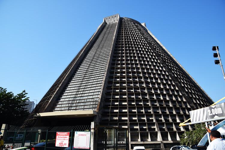 Rio de Janeiro cathédrale métropolitaine