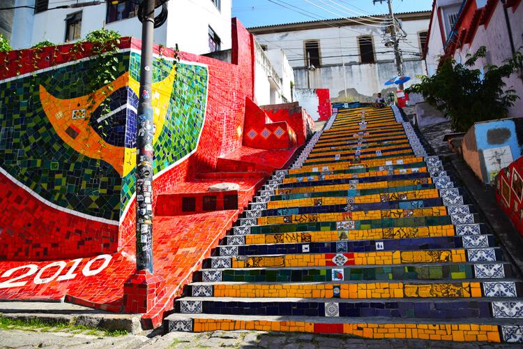Rio de Janeiro escalier selaron