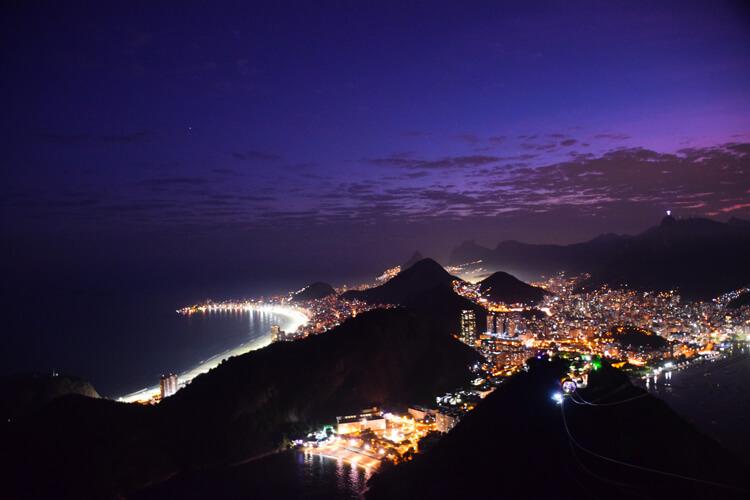 Rio de janeiro nuit