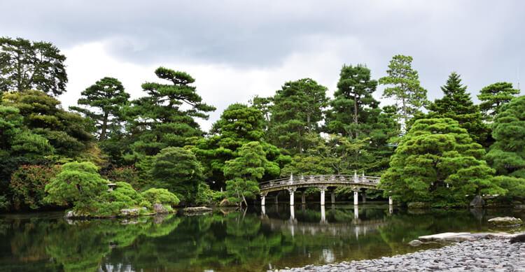 Kyoto jardin impérial