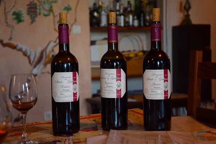 Vin domaine Saint-Guilhem