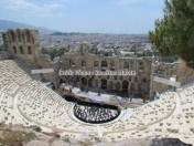 Athènes - Acropole - Théâtre de Herodes Atticus