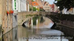 Brugge - Sur les bords du canal