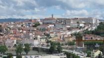 Coimbra - Depuis l'église de la Reine Santa Isabel, vue sur la ville