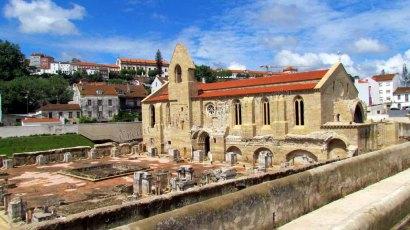 Coimbra - Monastère de Santa Clara, ruines