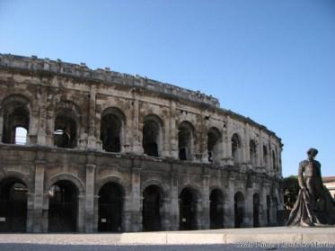 Gard - Nîmes - Les arènes